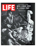 LIFE Brave Helicopter Crew Poster