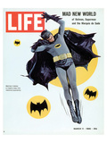LIFE Batman Mad New World 1966 Plakat