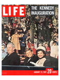 LIFE Kennedy Inauguration 1961 Poster