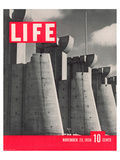 LIFE Fort Peck Dam 1936 Art by  Anonymous