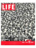 LIFE Dodgertown Rookies 1948 Kunst van  Anonymous