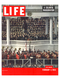 LIFE Eisenhower Inauguration Plakater