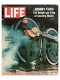 LIFE Johnny Cash Rough-cut King ポスター