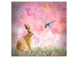 Pastels Pink Affiches par Claire Westwood