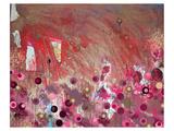 Rouge (Kandinsky) Posters par Claire Westwood