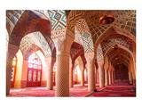 Nasir al-Mulk mosque Shiraz Iran Posters