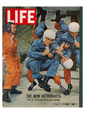 LIFE the new Astronauts 1963 Kunstdrucke