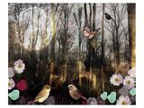 Woodland Moon Posters par Claire Westwood