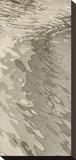 Edge of the Beach Trykk på strukket lerret av Margaret Juul