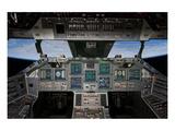 Shuttle Flight Deck Poster