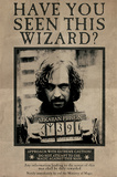 Harry Potter- Sirius Black Wanted Poster Poster