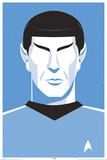Star Trek: 50th Anniversary- Deco Spock Pósters