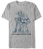 Pixar: Toy Story- Friendly Sketch T-skjorte