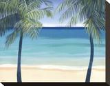 Sea Breeze II Stretched Canvas Print by Cathe Hendrick