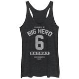 Juniors Tank Top: Big Hero 6- Property Of Baymax Ermeløse toppen for damer