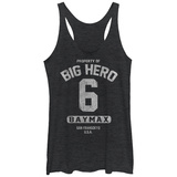 Juniors Tank Top: Big Hero 6- Property Of Baymax Womens Tank Tops