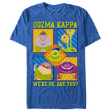 Pixar: Monsters University- Oozma Kappa T-shirts