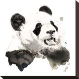 Panda Stampa su tela di Philippe Debongnie