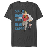 The Incredibles- No Capes Required T-shirts