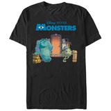 Pixar: Monsters Inc.- Relaxing By The Door T-shirts