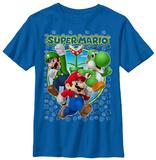 Youth: Super Mario- Heroic Trio Tshirts