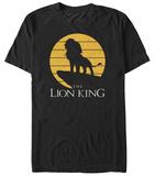 Disney: The Lion King- Simba Pride Rock Silhouette T-Shirt