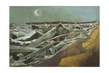 Totes Meer (Dead Sea) Giclee Print by Paul Nash