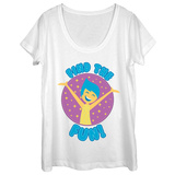Womens: Inside Out- Find The Fun Dolman T-shirts