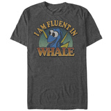 Finding Dory- Fluent In Whale T-Shirt