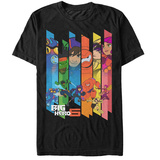 Big Hero 6- Hero Panels T-shirts