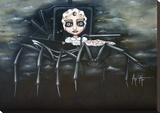 La nounou Toile tendue sur châssis par Angelina Wrona