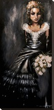 Bridesmaid Toile tendue sur châssis par Angelina Wrona