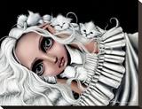 Beatrix Toile tendue sur châssis par Angelina Wrona