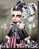 Angora Toile tendue sur châssis par Angelina Wrona