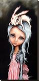 Bunny Couture Toile tendue sur châssis par Angelina Wrona