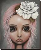 Eloïse Toile tendue sur châssis par Angelina Wrona