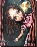 It's Time Toile tendue sur châssis par Angelina Wrona