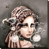 Mary Toile tendue sur châssis par Angelina Wrona