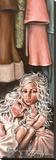 Sanctuaire Toile tendue sur châssis par Angelina Wrona