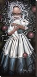 Résurrection Toile tendue sur châssis par Angelina Wrona