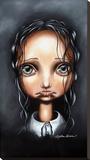 Poor Little Abigail Toile tendue sur châssis par Angelina Wrona