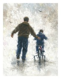 First Bike Ride Prints by Vickie Wade