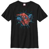 Youth: Spiderman- Jumping At You Shirts