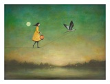 Blue Moon Expedition Poster af Duy Huynh