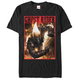 Ghost Riderflames & Chains T-Shirts