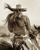 Cowgirl Affiches par Lisa Dearing