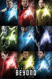 Star Trek Beyond- Characters Grid Poster