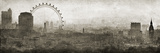 Monumentos de Londres Lámina giclée por Pete Kelly