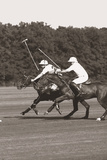 Polo In The Park III Giclee Print by Ben Wood