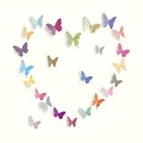 Butterfly Heart I Reproduction procédé giclée par Sasha Blake